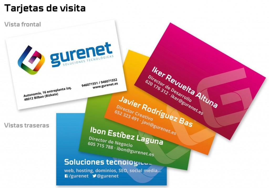 Tarjetas de visita de Gurenet