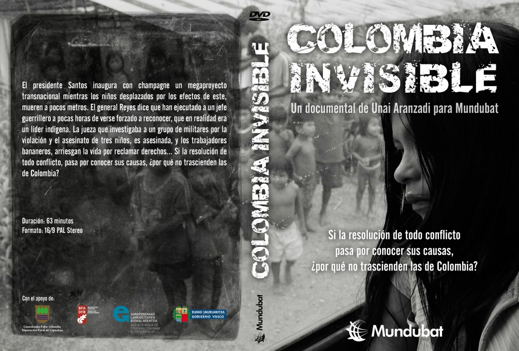 Colombia Invisible caratula
